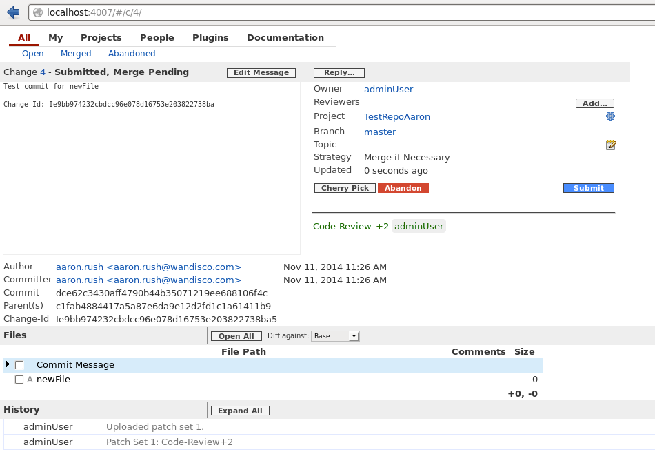 Getting the onos core source code using git and gerrit onos wiki.