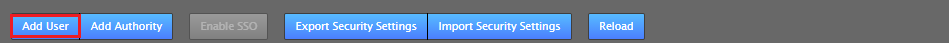 Security tab