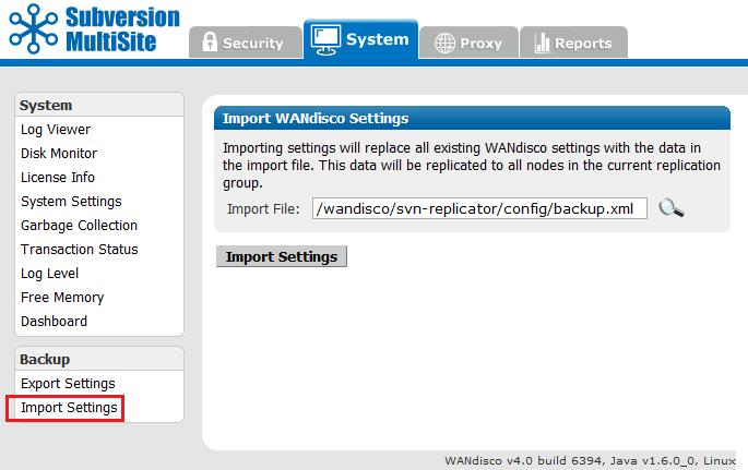 WANdisco Subversion MultiSite v4 0/GA Admin Guide