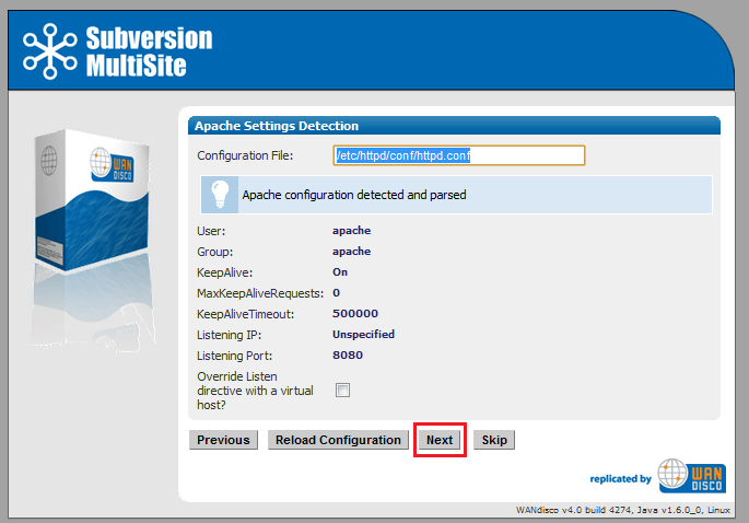 WANdisco Subversion MultiSite v4 1 Admin Guide