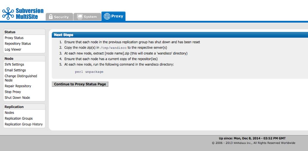 WANdisco SVN MultiSite v4 2 Product Documentation