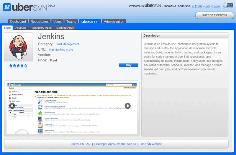 uberAPPS - Jenkins Guide