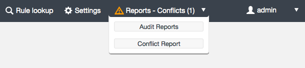 dash audit conflicts