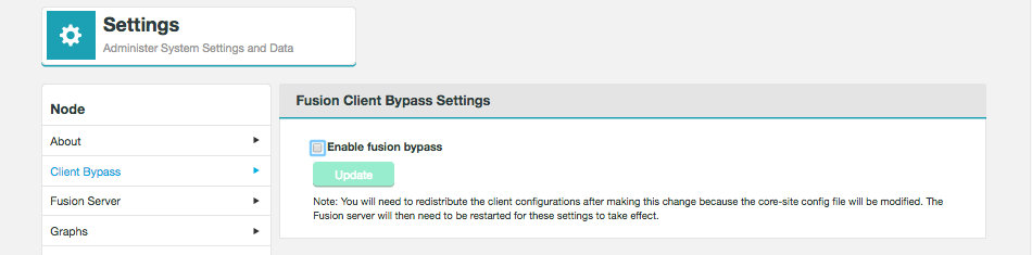 Enable Client Bypass