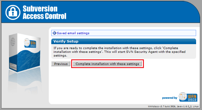 Deployment Guide - WANdisco Subversion Access Control 4 2